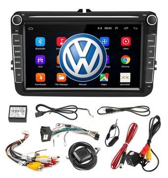 RADIO ANDROID 8'' DO GOLF V VI 5 6 VW PASSAT B6 B7 доставка товаров из Польши и Allegro на русском