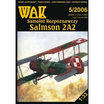 ОАК 5/06 - Самолет-разведчик Salmson 2A2 1:33 доставка товаров из Польши и Allegro на русском