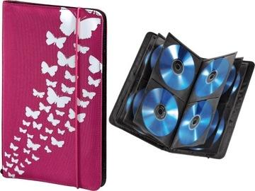 HAMA CD WALLET Чехол Чехол для 48 CD DVD PINK доставка товаров из Польши и Allegro на русском