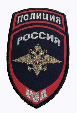 Оригинальная полоса МИЛИЦИЯ РОССИЯ - НОВАЯ (7) доставка товаров из Польши и Allegro на русском
