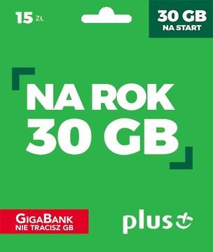 Starter PLUS-15 Интернет На карту 30GB НА ГОД доставка товаров из Польши и Allegro на русском