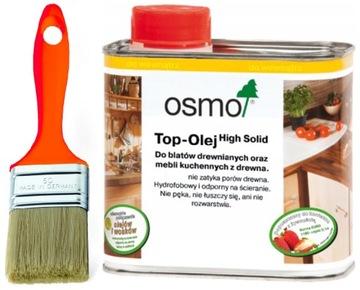 OSMO 3058 ТОП Масло для столешниц и мебели-МАТОВЫЙ БЕСЦВЕТНЫЙ доставка товаров из Польши и Allegro на русском