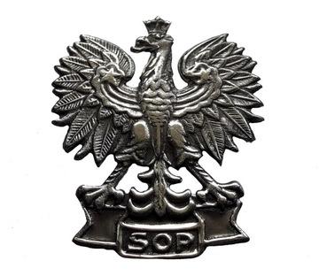 ОРЕЛ-СЛУЖБА ОХРАНЫ ГОСУДАРСТВА SOP - металлический доставка товаров из Польши и Allegro на русском