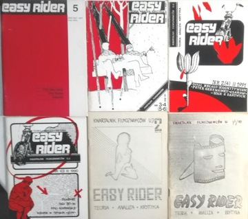 Easy Rider номера с лет 1990-1991 6 шт SPK доставка товаров из Польши и Allegro на русском