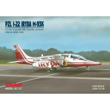 Angraf 157 - Самолет PZL I-22 Iryda SP-PWD 1:33 доставка товаров из Польши и Allegro на русском