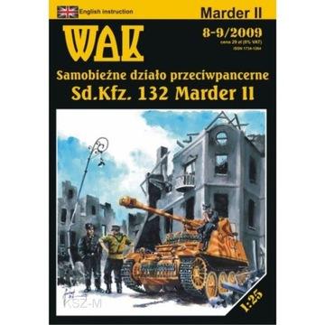 WAK 8-9/09 - самоходная установка Marder II 1:25 доставка товаров из Польши и Allegro на русском