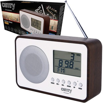 RADIO KUCHENNE RETRO FM zegar budzik STYLOWE доставка товаров из Польши и Allegro на русском