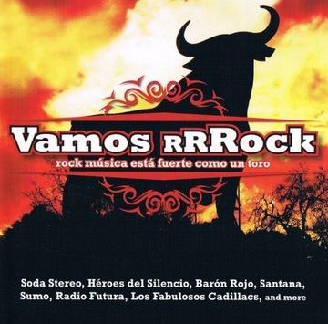 CD Vamos Рок 2014 Sony испанский рок доставка товаров из Польши и Allegro на русском