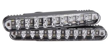 2 в 1 ДНЕВНЫЕ ходовые Огни+УКАЗАТЕЛИ поворота DRL 30 LED доставка товаров из Польши и Allegro на русском