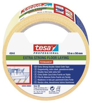 Лента для напольных покрытий, двусторонний tesa прочная 10м 50мм доставка товаров из Польши и Allegro на русском