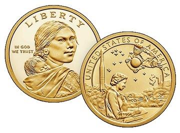 Индианка 2019 - Native American Sacagawea Dollar доставка товаров из Польши и Allegro на русском