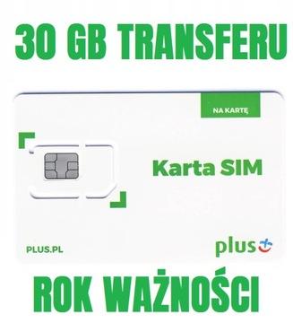 ПЛЮС ИНТЕРНЕТ НА КАРТУ iPLUS 30GB LTE 365 ДНЕЙ в ГОД доставка товаров из Польши и Allegro на русском