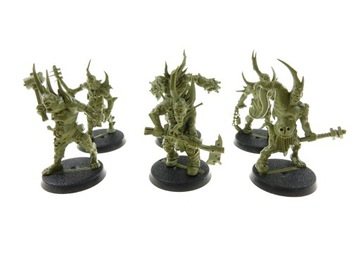 Death Guard Nurgle Poxwalkers zestaw 6 figurek доставка товаров из Польши и Allegro на русском