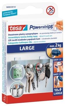 Пластыри монтажные tesa POWERSTRIPS 10 шт большие 2кг доставка товаров из Польши и Allegro на русском