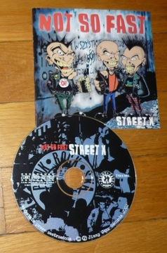 CD Not so fast - Street X (Панк oi! ska году) доставка товаров из Польши и Allegro на русском