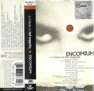 ENCOMIUM - A TRIBUTE TO LED ZEPPELIN, V/A [KASETA] доставка товаров из Польши и Allegro на русском