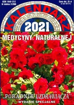 KALENDARZ MEDYCYNY NATURALNEJ na rok 2021 wyd.spec доставка товаров из Польши и Allegro на русском