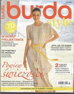Burda № 5/2020 с wykrojami Новая доставка товаров из Польши и Allegro на русском