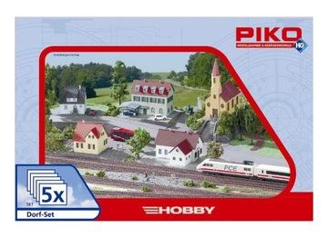 Набор из 5 зданий, город, HO 1:87 PIKO 61925 доставка товаров из Польши и Allegro на русском