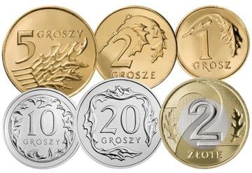 Комплект циркуляционных монет 2006 года. UNC 6 шт доставка товаров из Польши и Allegro на русском