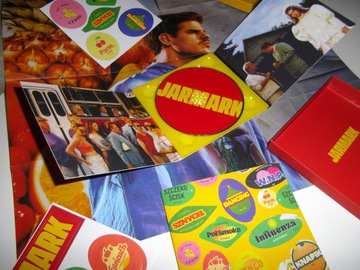 Taco Hemingway JARMARK FAN BOX ,MINI PLAKAT WLEPKI доставка товаров из Польши и Allegro на русском