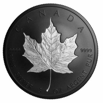 Kanada 2020 50$ Srebrny Liść Klonowy Platerowany доставка товаров из Польши и Allegro на русском