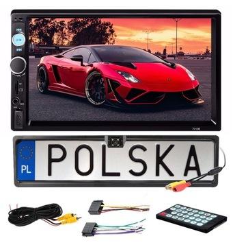 РАДИО 2DIN ЭКРАН 7 АВТОМОБИЛЬНЫЕ USB SD MP3 + КАМЕРА доставка товаров из Польши и Allegro на русском