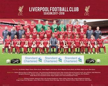 Ливерпуль, Фото Состава Команды Плакат 50x40 см доставка товаров из Польши и Allegro на русском