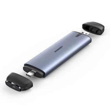 UGREEN KIESZEŃ OBUDOWA NA DYSK SSD M.2 USB-C 3.2 доставка товаров из Польши и Allegro на русском