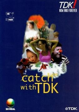 TDK - Kasety 8 mm Hi8 mm - katalog / folder polski доставка товаров из Польши и Allegro на русском