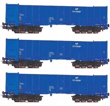 Zestaw 3 Wagonów węglark typ Eas-x Piko 58778 HO доставка товаров из Польши и Allegro на русском