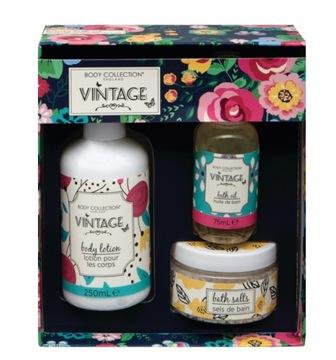 Body Collection VINTAGE Zestaw 3 produktów +GRATIS доставка товаров из Польши и Allegro на русском