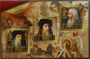 Leonardo da Vinci wynalazki Benin ark. #BEN15-25 доставка товаров из Польши и Allegro на русском