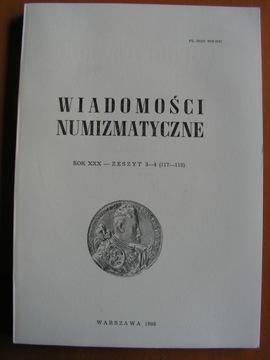 СООБЩЕНИЯ ДЛЯ МОНЕТ, ГОД XXX, ZESZYT3-4, доставка товаров из Польши и Allegro на русском