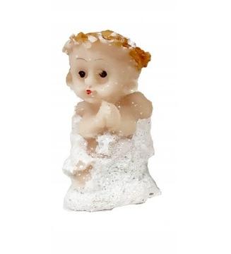 Рождественский сидящий ангел грязно-розовый 25 см  доставка товаров из Польши и Allegro на русском