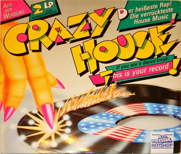 Crazy House 1988 SKŁ 2x12'' Salt 'N' Pepa доставка товаров из Польши и Allegro на русском