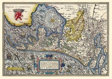 Карта Голландии доставка товаров из Польши и Allegro на русском
