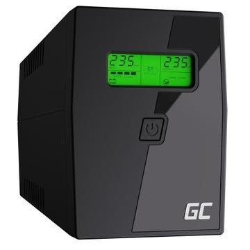Источник Бесперебойного питания UPS 600VA 360 ВТ ЖК-дисплей + Программа! доставка товаров из Польши и Allegro на русском
