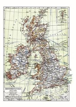 Карта Великобритании доставка товаров из Польши и Allegro на русском