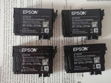 EPSON Zestaw tuszy startowych PUSTE 27 доставка товаров из Польши и Allegro на русском