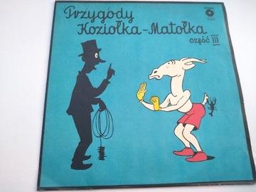 Przygody Koziołka-Matołka Część III i IV /LP доставка товаров из Польши и Allegro на русском
