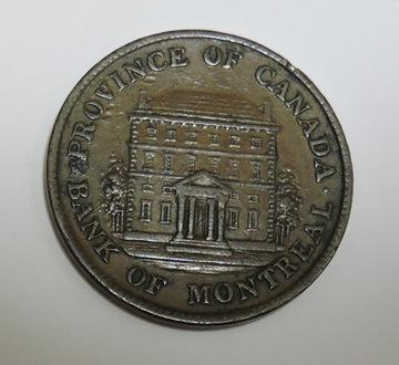 KANADA Bank of Montreal half penny token 1844 доставка товаров из Польши и Allegro на русском