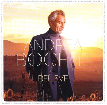 ANDREA BOCELLI: BELIEVE (PL) [CD] доставка товаров из Польши и Allegro на русском