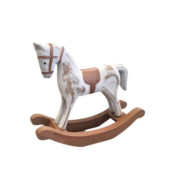 Деревянная лошадка-качалка 13 см  доставка товаров из Польши и Allegro на русском