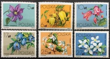 Fi 2758-2763 ** 1984 Клематис – Clematis доставка товаров из Польши и Allegro на русском