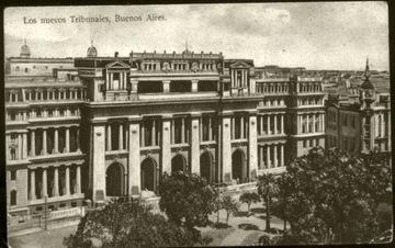 Los nuevos Tribunales, Buenos Aires - 1910 доставка товаров из Польши и Allegro на русском