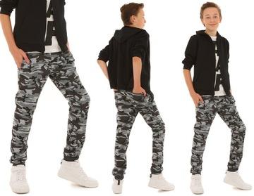 Спортивные штаны для мальчика КАМУФЛЯЖ - 140 ТОЧЕК доставка товаров из Польши и Allegro на русском
