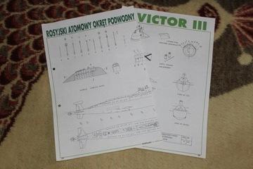 Victor III Plany modelarskie Stan BDB доставка товаров из Польши и Allegro на русском