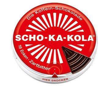 Шоколад Що-Ка-Колеса горький с кофеином доставка товаров из Польши и Allegro на русском