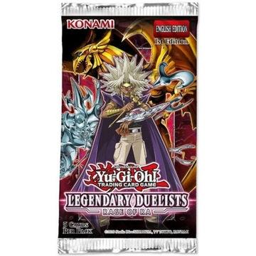 Yu-Gi-Oh TCG Легендарные дуэлянты Rage of Ra Booster  доставка товаров из Польши и Allegro на русском
